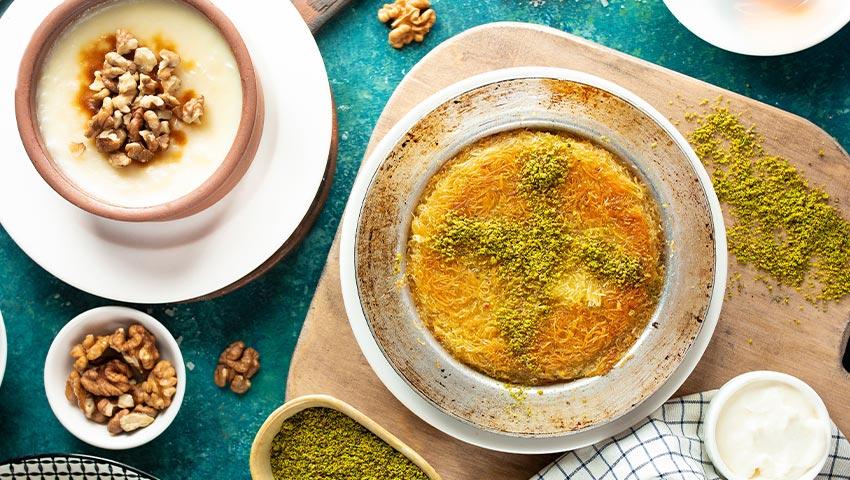 طرز تهیه دسر و شیرینی مخصوص ماه رمضان
