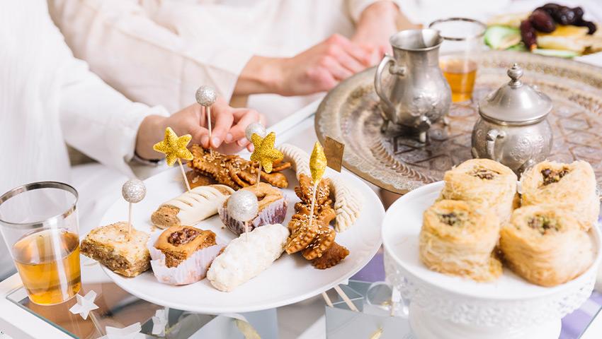 طرز تهیه دسر و شیرینی عید فطر