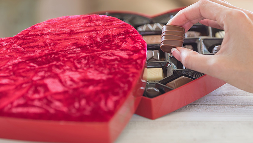 طرز تهیه شکلات دست ساز ولنتاین