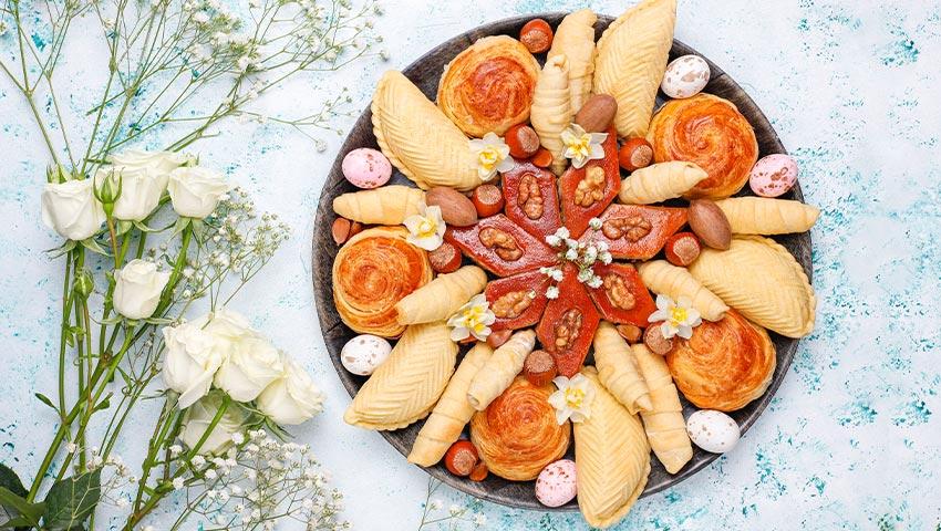 10 مدل طرز تهیه شیرینی عید نوروز خانگی